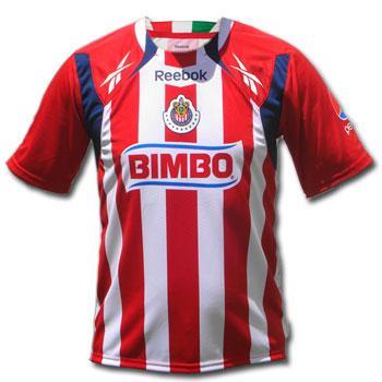 6da649ee3 Jersey Chivas Official Home 10-11 jersey chivas 2010  ESCH010 ...