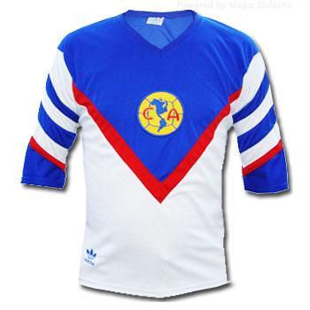 3d93fd6d7 Jersey Club America Retro 91 Away jersey retro club america 1991 ...