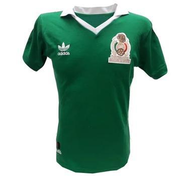 Jersey Retro Selección Mexicana 1986 #10