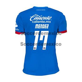 18be07326fe Jersey Cruz Azul 2018 19 Joma Home Mendez Jersey Cruz Azul 2018 19 ...