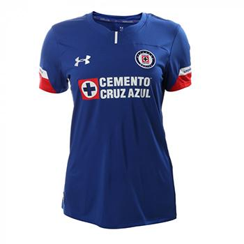6a89787d135 Jersey Cruz Azul women under armour Home 2018 19. customize with the  official name and number 2018 19.