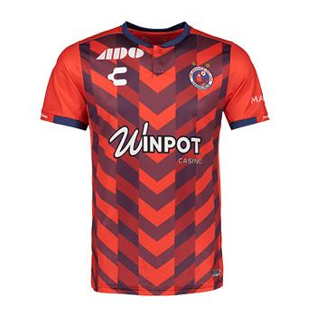 491c8cf9980 Jersey Veracruz 2018 19 home mande by charly. customize with the official  name and number 2018 19.