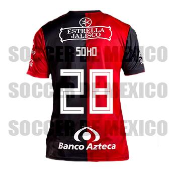 13f21a4a8 Jersey Atlas de Guadalajara adidas 2018 19 Home Soko Jersey Atlas de ...