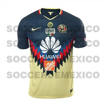 0ceb46e02b7 Jersey Club America Nike 2017 18 101 years Home Jersey Club America ...