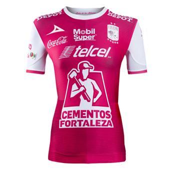 Jersey Club Leon Pirma Women 2017 18 Pink Jersey Club Leon Pirma ... 0f3818bf8c