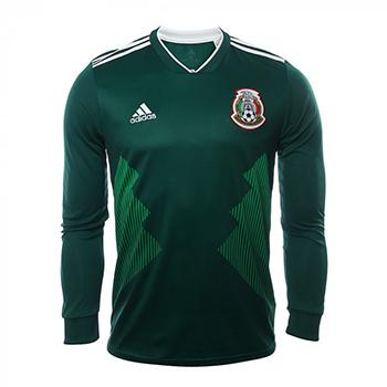 211bdc848bac1 Jersey Selección Mexicana Home L S adidas World Cup Russia 2018 ...