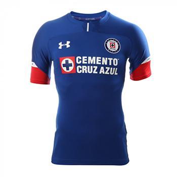 6ad68188a Jersey Cruz Azul 2018 19 Under Armour Home soccer Jersey Cruz Azul ...