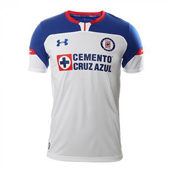 7c50f640442 Jersey Cruz Azul 2018 19 Under Armour Home soccer Jersey Cruz Azul ...
