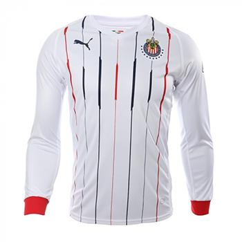 54a9e6304 Jersey Chivas de Guadalajara Puma away 2018 19 long sleeve. Customize with  the official name and number 2018 19.