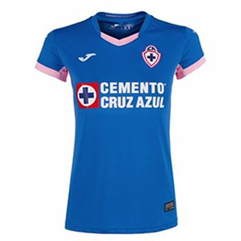 463f674a Jersey Cruz Azul Joma home 2018/19 women. customize with the official name  and number 2018/19.